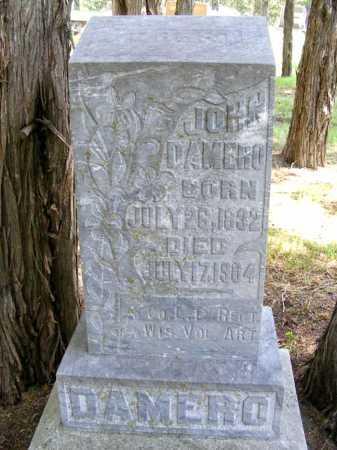 DAMERO, JOHN - Holt County, Nebraska   JOHN DAMERO - Nebraska Gravestone Photos
