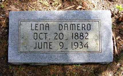 DAMERO, LENA - Holt County, Nebraska   LENA DAMERO - Nebraska Gravestone Photos