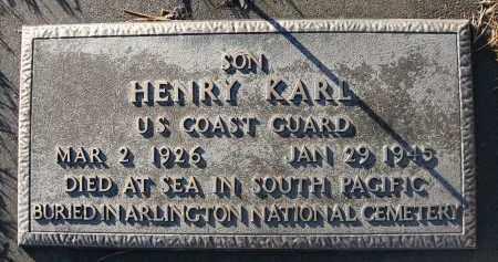 DEERMER, HENRY KARL - Holt County, Nebraska | HENRY KARL DEERMER - Nebraska Gravestone Photos