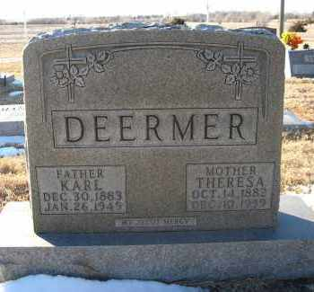 DEERMER, THERESA - Holt County, Nebraska | THERESA DEERMER - Nebraska Gravestone Photos