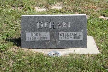 DEHART, ROSA I. - Holt County, Nebraska   ROSA I. DEHART - Nebraska Gravestone Photos