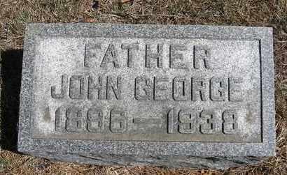DENKINGER, JOHN GEORGE - Holt County, Nebraska | JOHN GEORGE DENKINGER - Nebraska Gravestone Photos