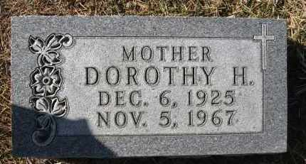 DOBROVOLNY, DOROTHY H - Holt County, Nebraska   DOROTHY H DOBROVOLNY - Nebraska Gravestone Photos