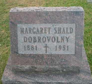 DOBROVOLNY, MARGARET - Holt County, Nebraska   MARGARET DOBROVOLNY - Nebraska Gravestone Photos