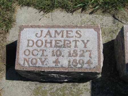 DOHERTY, JAMES - Holt County, Nebraska | JAMES DOHERTY - Nebraska Gravestone Photos