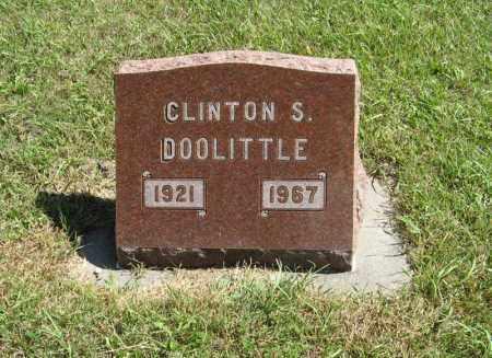 DOOLITTLE, CLINTON S. - Holt County, Nebraska | CLINTON S. DOOLITTLE - Nebraska Gravestone Photos