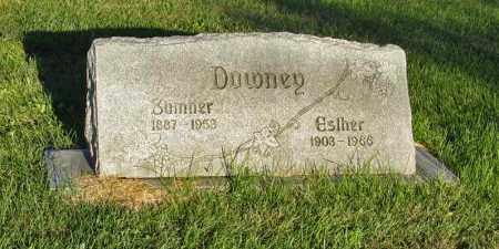 DOWNEY, ESTHER - Holt County, Nebraska | ESTHER DOWNEY - Nebraska Gravestone Photos