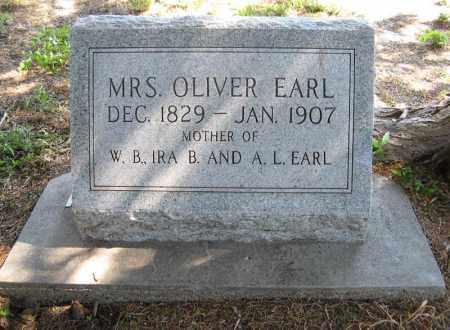 EARL, MRS. OLIVER - Holt County, Nebraska | MRS. OLIVER EARL - Nebraska Gravestone Photos