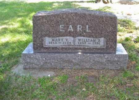 EARL, WILLIAM B. - Holt County, Nebraska | WILLIAM B. EARL - Nebraska Gravestone Photos