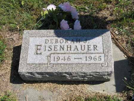 EISENHAUER, DEBORAH J. - Holt County, Nebraska | DEBORAH J. EISENHAUER - Nebraska Gravestone Photos