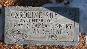 ELSBURY, CAROLINE SUE - Holt County, Nebraska | CAROLINE SUE ELSBURY - Nebraska Gravestone Photos