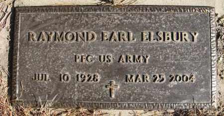 ELSBURY, RAYMOND EARL - Holt County, Nebraska | RAYMOND EARL ELSBURY - Nebraska Gravestone Photos
