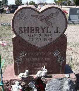 ENGLER, SHERYL J - Holt County, Nebraska | SHERYL J ENGLER - Nebraska Gravestone Photos