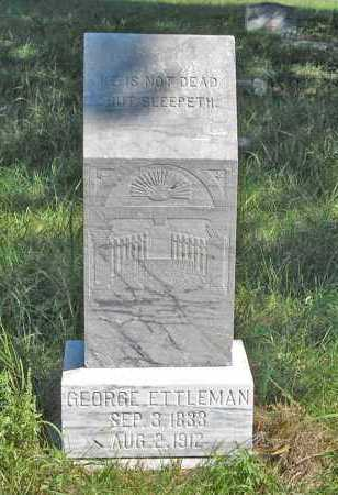 ETTLEMAN, GEORGE - Holt County, Nebraska | GEORGE ETTLEMAN - Nebraska Gravestone Photos