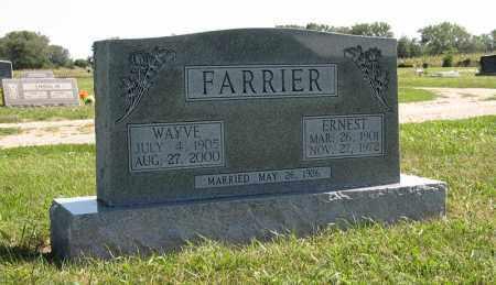 FARRIER, WAYVE - Holt County, Nebraska | WAYVE FARRIER - Nebraska Gravestone Photos