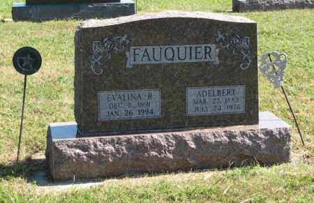 FAUQUIER, EVALINA R. - Holt County, Nebraska | EVALINA R. FAUQUIER - Nebraska Gravestone Photos