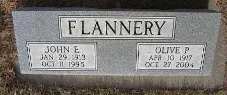 FLANNERY, OLIVE P - Holt County, Nebraska   OLIVE P FLANNERY - Nebraska Gravestone Photos