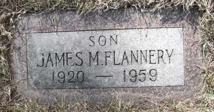 FLANNERY, JAMES M - Holt County, Nebraska | JAMES M FLANNERY - Nebraska Gravestone Photos