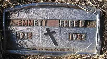 FREED, EMMETT - Holt County, Nebraska | EMMETT FREED - Nebraska Gravestone Photos