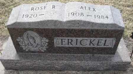 FRICKEL, ALEX - Holt County, Nebraska | ALEX FRICKEL - Nebraska Gravestone Photos