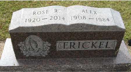 FRICKEL, ROSE R - Holt County, Nebraska   ROSE R FRICKEL - Nebraska Gravestone Photos