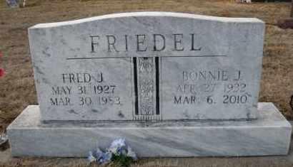 FRIEDEL, BONNIE J - Holt County, Nebraska | BONNIE J FRIEDEL - Nebraska Gravestone Photos