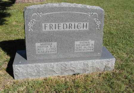 FRIEDRICH, PHANIA B. J. - Holt County, Nebraska   PHANIA B. J. FRIEDRICH - Nebraska Gravestone Photos