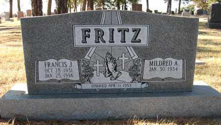 FRITZ, FRANCIS J - Holt County, Nebraska | FRANCIS J FRITZ - Nebraska Gravestone Photos