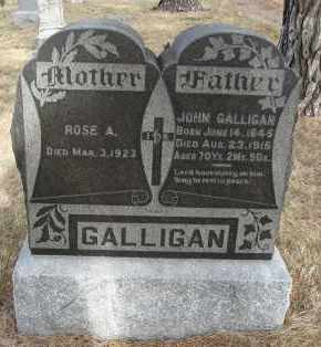 GALLIGAN, ROSE A - Holt County, Nebraska | ROSE A GALLIGAN - Nebraska Gravestone Photos