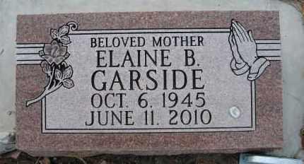 GARSIDE, ELAINE B - Holt County, Nebraska | ELAINE B GARSIDE - Nebraska Gravestone Photos