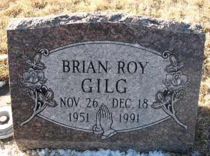 GILG, BRIAN ROY - Holt County, Nebraska | BRIAN ROY GILG - Nebraska Gravestone Photos