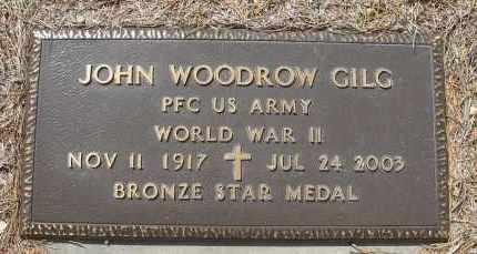GILG, JOHN WOODROW - Holt County, Nebraska | JOHN WOODROW GILG - Nebraska Gravestone Photos