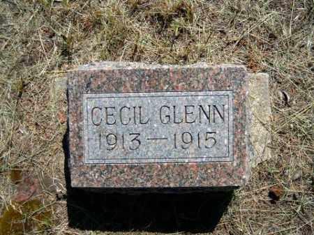 GLENN, CECIL - Holt County, Nebraska | CECIL GLENN - Nebraska Gravestone Photos