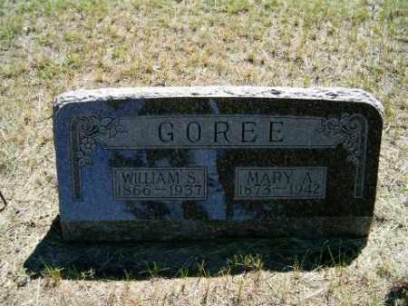 GOREE, WILLIAM - Holt County, Nebraska | WILLIAM GOREE - Nebraska Gravestone Photos