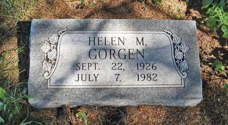 GORGEN, HELEN M. - Holt County, Nebraska | HELEN M. GORGEN - Nebraska Gravestone Photos