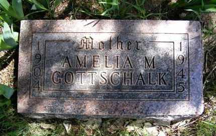 GOTTSCHALK, AMELIA MARGARET - Holt County, Nebraska | AMELIA MARGARET GOTTSCHALK - Nebraska Gravestone Photos