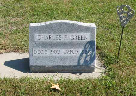 GREEN, CHARLES F. - Holt County, Nebraska | CHARLES F. GREEN - Nebraska Gravestone Photos