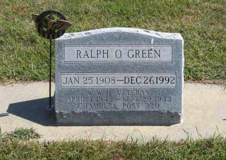 GREEN, RALPH O. - Holt County, Nebraska | RALPH O. GREEN - Nebraska Gravestone Photos