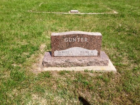 POTRAS GUNTER, HAZEL A - Holt County, Nebraska | HAZEL A POTRAS GUNTER - Nebraska Gravestone Photos