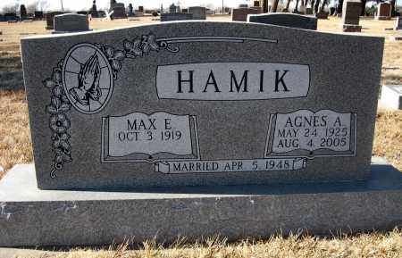 HAMIK, AGNES A - Holt County, Nebraska   AGNES A HAMIK - Nebraska Gravestone Photos