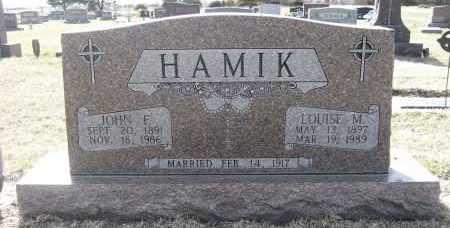 HAMIK, LOUISE M - Holt County, Nebraska | LOUISE M HAMIK - Nebraska Gravestone Photos