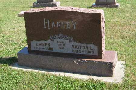 HARLEY, VICTOR L. - Holt County, Nebraska | VICTOR L. HARLEY - Nebraska Gravestone Photos