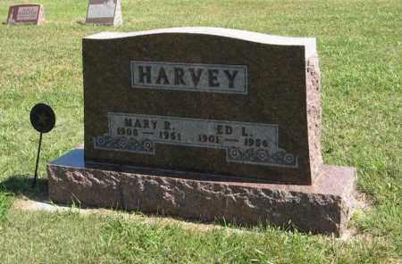HARVEY, ED L. - Holt County, Nebraska   ED L. HARVEY - Nebraska Gravestone Photos