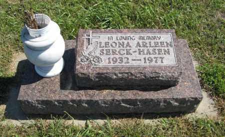SERCK HASEN, LEONA ARLEEN - Holt County, Nebraska | LEONA ARLEEN SERCK HASEN - Nebraska Gravestone Photos