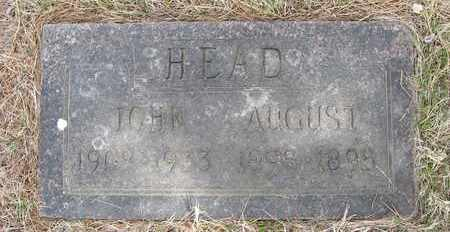 HEAD, JOHN - Holt County, Nebraska | JOHN HEAD - Nebraska Gravestone Photos