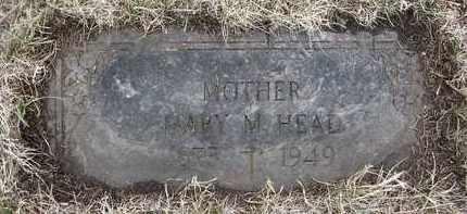 HEAD, MARY M - Holt County, Nebraska   MARY M HEAD - Nebraska Gravestone Photos