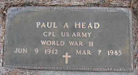 HEAD, PAUL A - Holt County, Nebraska | PAUL A HEAD - Nebraska Gravestone Photos