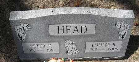 HEAD, LOUISE R - Holt County, Nebraska | LOUISE R HEAD - Nebraska Gravestone Photos