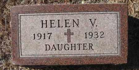 HEINOWSKI, HELEN V - Holt County, Nebraska | HELEN V HEINOWSKI - Nebraska Gravestone Photos