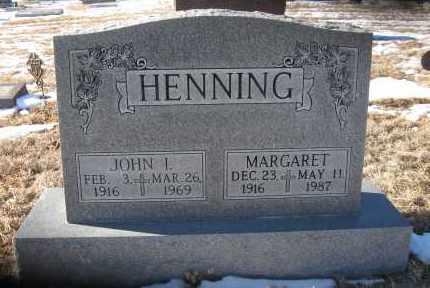 HENNING, MARGARET - Holt County, Nebraska | MARGARET HENNING - Nebraska Gravestone Photos
